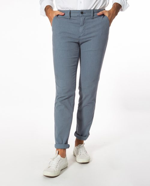Chino Casual Gris Medio